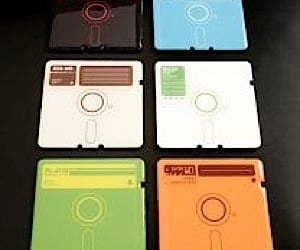 Floppy Disk Coasters by Supermandolini