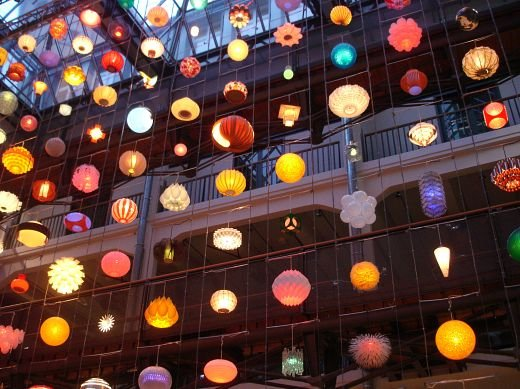 Space Invaders Light Installation by Rainer Kehres & Sebastian Hungerer