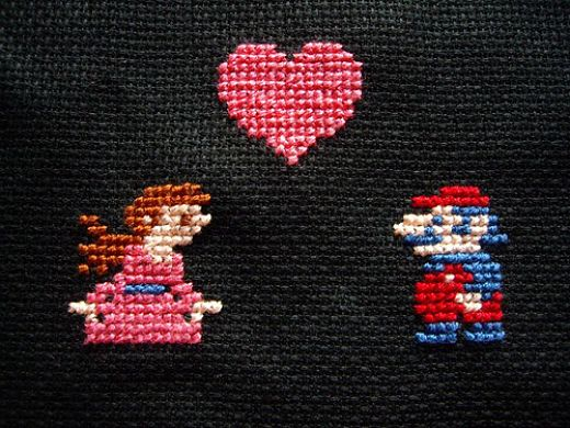 cross_stitch_mario_valentine_detail