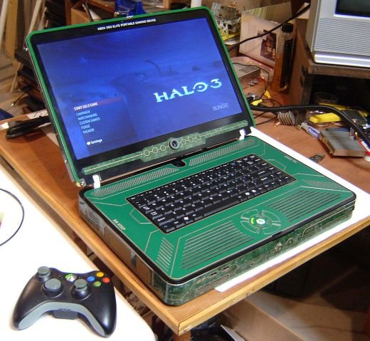Xbox 360 Elite Laptop: Ben Heck is at It Again