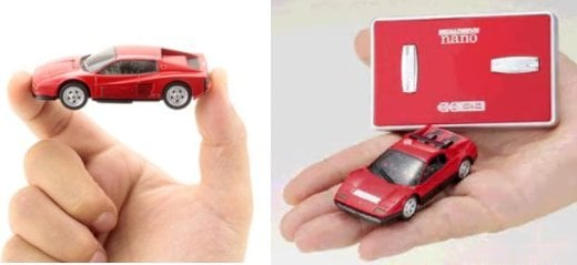 Ferrari Nano Racers: Tiny, Remote Controlled Fun