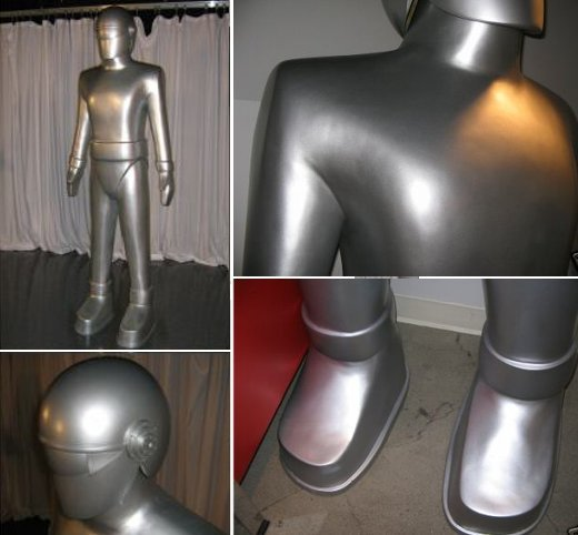 Gort Robot Day the Earth Stood Still