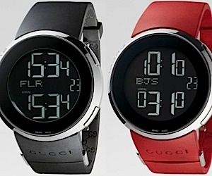 Gucci Men's Watches Go Digital [Fancy Schmancy]