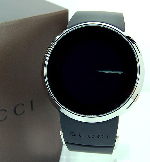 gucci mens digital watch dial