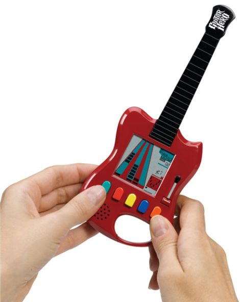 Guitar Hero Caribiner Portable LCD Game