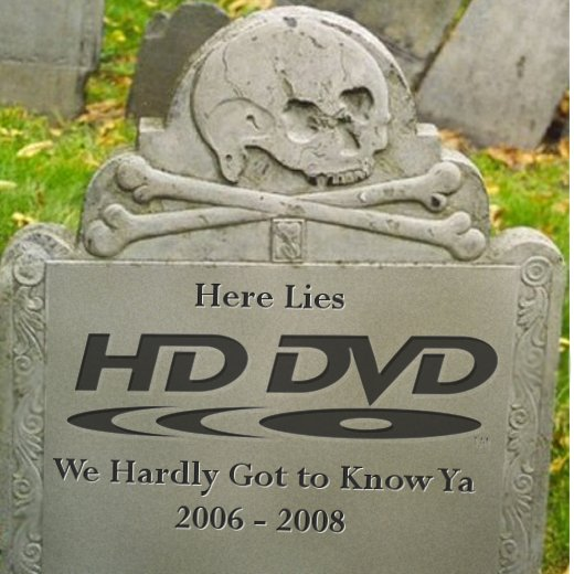HD DVD Gets Buried by Best Buy and Netflix