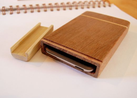 Handmade Wood iPod Touch Case (Gorgeous)