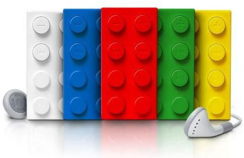 LEGO MP3 Player by Homade