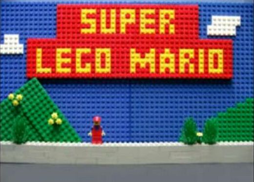 LEGO Super Mario Animation