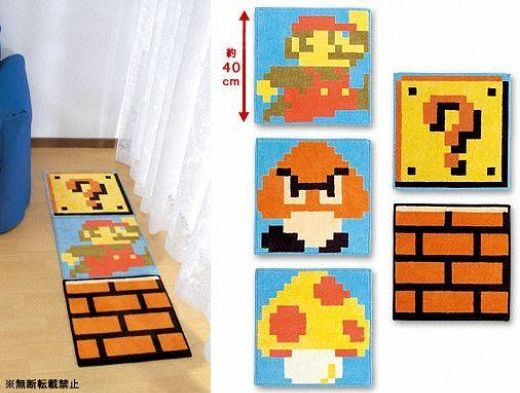 Mario Floor Coverings for Fun Under Foot
