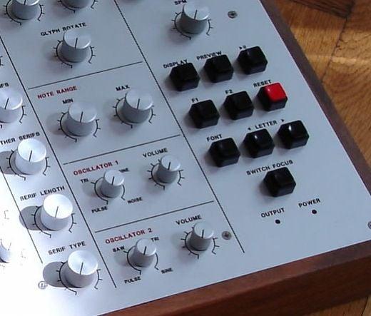 Meek FM Typographic Synthesizer