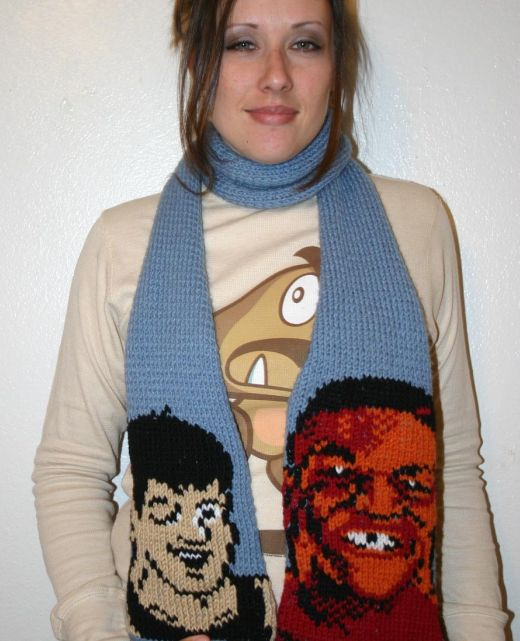 Mike Tyson's Punch-Out Scarf