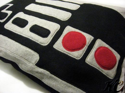 Nintendo NES Controller Pillow Case by Penguinotic