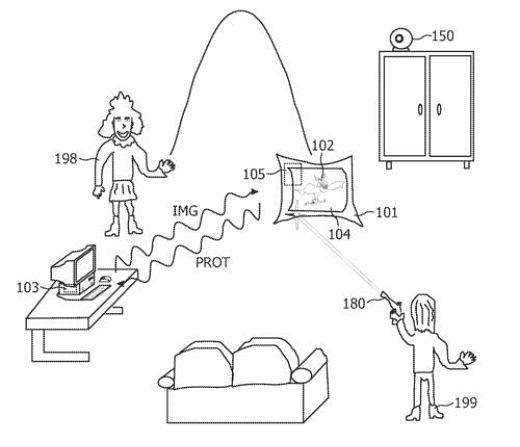 Philips Throwable Game Display Patent