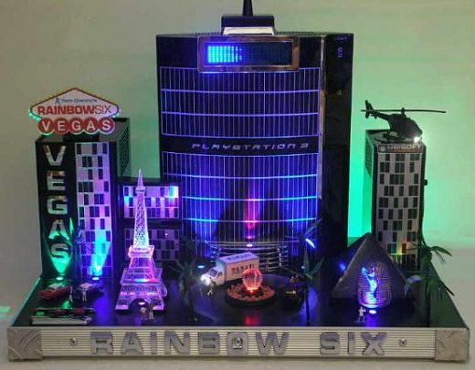PS3 Rainbow Six Vegas Casemod