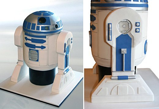 R2-D2 Cake by Mark Joseph Cakes
