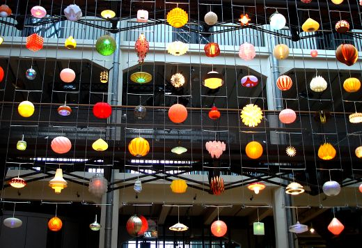 Space Invaders Light Installation by Rainer Kehres & Sebastian Hungerer
