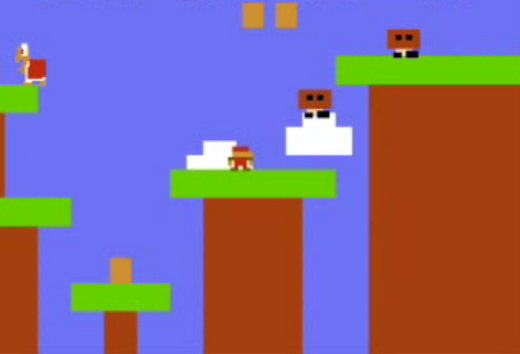 Atari 2600 Super Mario Brothers, Sorta.