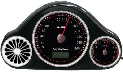 USB WPM Speedometer