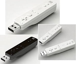 Wii-Mote Gets the USB Flash Drive Treatment