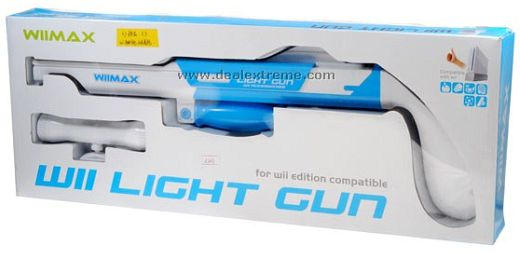 Wii Light Gun with Laser Sight WiiMax