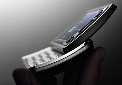 Sony Xperia X1 Side View