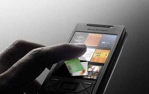 Sony Xperia X1 Interface