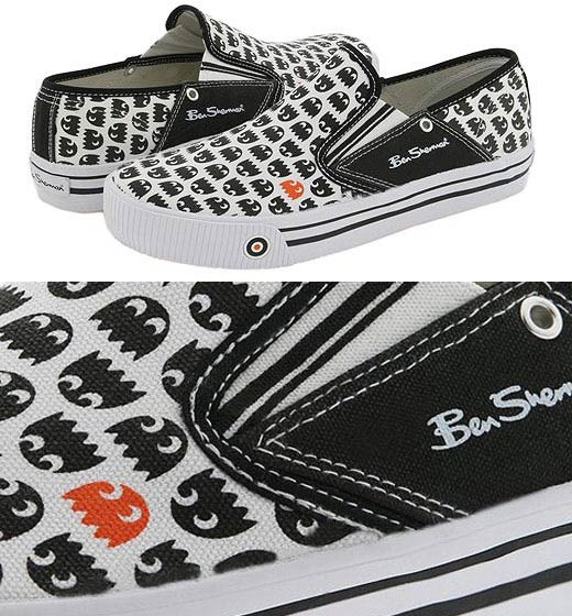 Ben Sherman Blinky Shoes Pac-Man