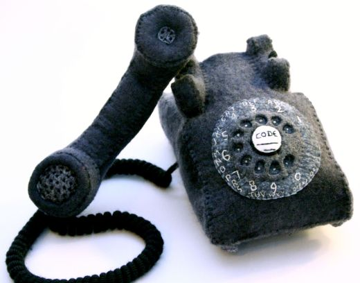 Blythe Plush Rotary Phone