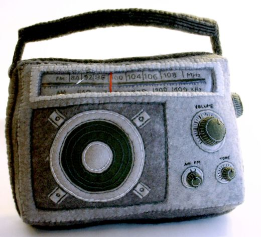 Plush Radio by Blythe