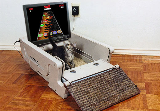 CatBox 360 Gaming System for Cats