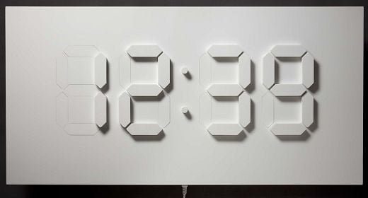 D/A Clock by Alvin Aronson