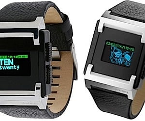 Diesel OLED Watches Offer Dual-Color Text Display