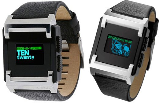 The latest digital watch from Diesel amps up the organic light emitting ...