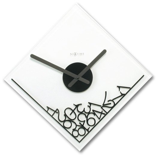 Dropped Numerals Clock by Nextime