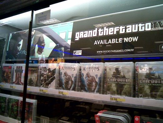 GTA IV Available Now at Target