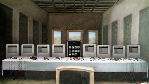iPhone Last Supper by Travis Hammond