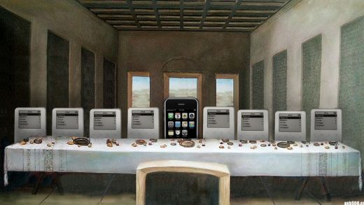 iPhone Last Supper by Travis Hammond