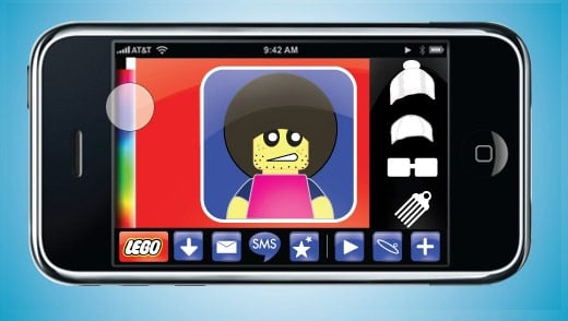 LEGO Touch for iPhone Avatar Editor