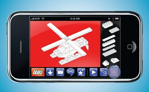 lego iphone helicopter