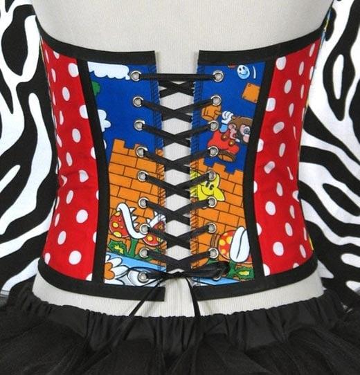 nintendo corset back