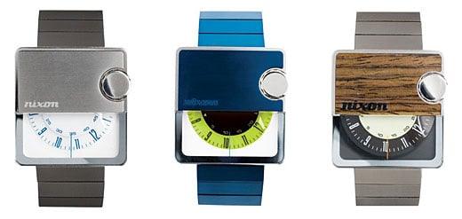 Nixon Murf Mens Analog Watch Colors