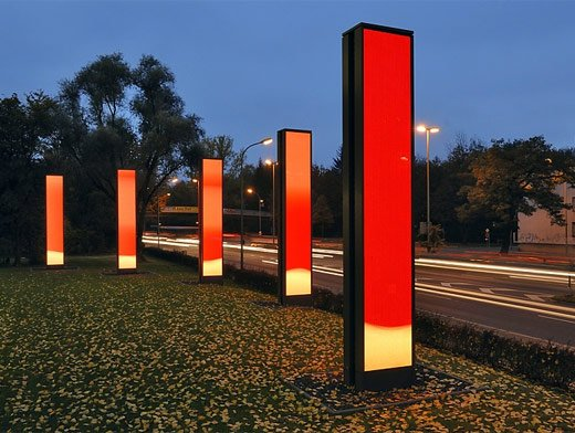 Reactive Sparks: Interactive LED Art Responds to Traffic