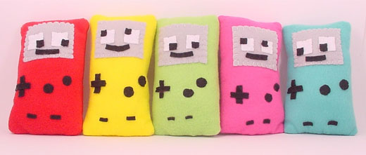 plush nintendo gameboy 2