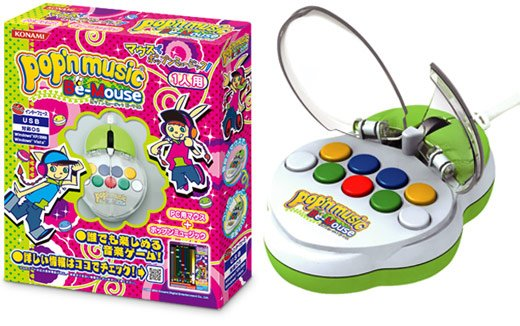 Pop N Music Be Mouse by Konami