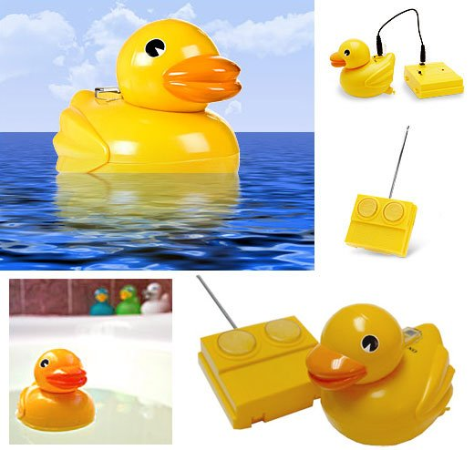 Rubber Duckie Remote Controlled