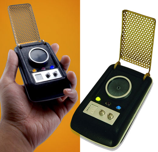 Star Trek Communicator: Kirk to Geek, Come in?
