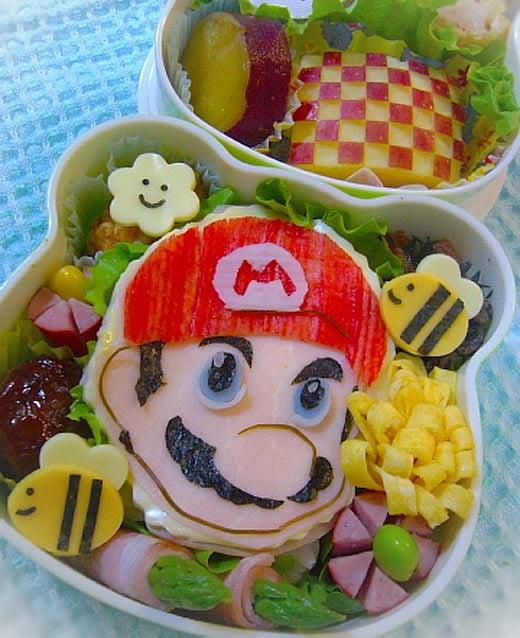 Super Mario Bento Box