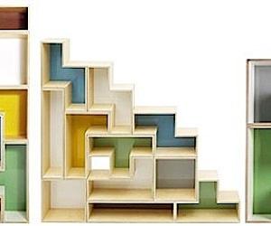 Tetrad Flat Shelving = Tetris Fix