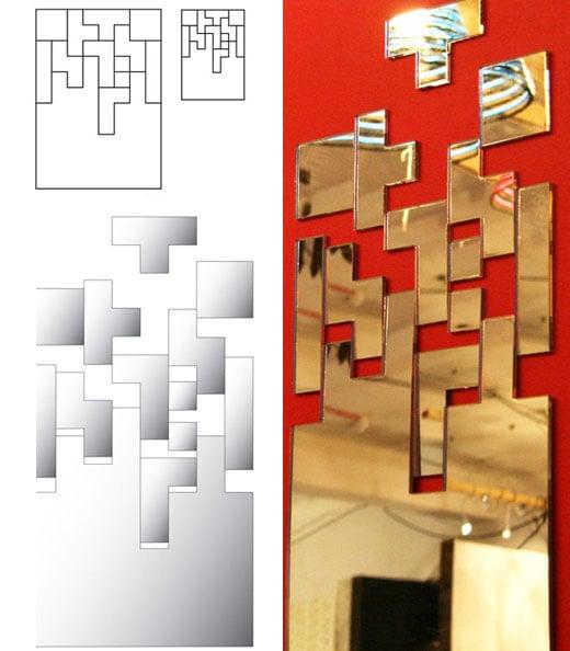 Tetris Mirror by Soner Ozenc